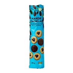 IKEA KAKOR CHOKLAD biscuits with chocolate filling £0.80