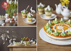 Ostern-Torte-Ostereier-Blumen-verzieren