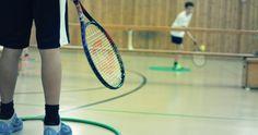 #Mini Tennis #Sportunterricht #Schule