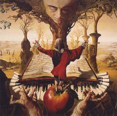 jose roosevelt surrealist painter 14 in Surrealistic Painter and Follower of Salvador Dali José Roosevelt