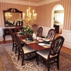 Add style and dimension to plain walls by adding box wainscoting.