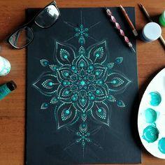 Turtle Painting, Dot Art Painting, Mandala Painting, Stone Painting, Mandala Painted Rocks, Mandala Rocks, Mandala Canvas, Mandala Art Lesson, Rock Painting Ideas Easy
