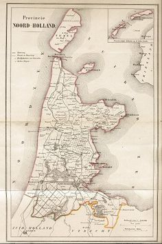 1868 - Province of North Holland. At that time Wieringen was an island.