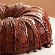 This rich microwave cake, studded with chopped almonds and chocolate morsels, is sprinkled with Korintje Cinnamon and drizzled with chocolate glaze.