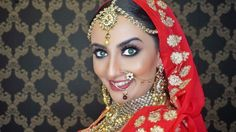 A little South Asian bridal inspiration. Chic, glamorous, and traditional--here's how to turn into a BOLLYWOOD BRIDE! Anand Karaj, Asian Bridal Makeup, Beautiful Bride, Dead Gorgeous, Punjabi Wedding, Bridal Make Up, Get The Look, Wedding Inspiration, Wedding Ideas