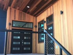 Engineered Western Red Cedar tongue and groove paneling is clearer and stronger than what nature can provide Interior Walls, Interior And Exterior, Cedar Tongue And Groove, Cedar Siding, Ceiling Detail, Exterior Cladding, Western Red Cedar, Building Materials, Westerns