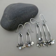 Small Sterling Silver Dancing Dangles by SoultoSubstance on Etsy
