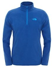 The North Face Mens 100 New Glacier Quarter Zip Fleece - The North Face Mens 100 New Glacier Quarter Zip Fleece is a comfortable, durable fleece for chilly days, acting as a midlayer for added insulation while on a hike, hill walk or walking the dog http://www.MightGet.com/january-2017-13/the-north-face-mens-100-new-glacier-quarter-zip-fleece-.asp