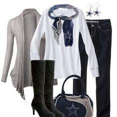 Dallas Cowboys Fall Fashion