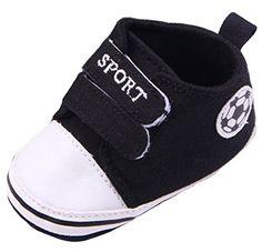 Bigood Fussball Stil Baby Junge Krabbelschuhe Lauflernschuhe Baby Schuh 11cm Schwarz - http://on-line-kaufen.de/bigood/11cm-bigood-fussball-stil-baby-junge-baby-schuh-5