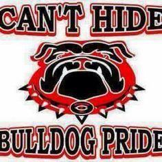 Georgia Bulldawgs! Football Banner, Sec Football, Football Shirts, College Football, Football Moms, Bulldog Wallpaper, Georgia Bulldogs Football, Bulldog Mascot, School Spirit Shirts