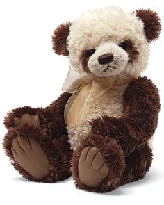 """Spotted this GUND """"Thierry"""" Panda Bear 15in Plush on Rue La La. Shop (quickly!)."""