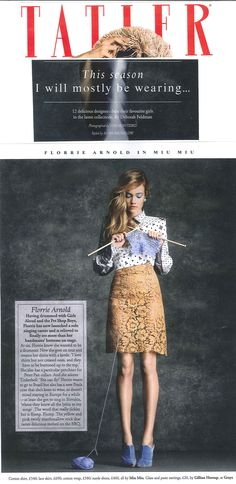 Indie Artist, Drummer, Beautiful , and sharp fashion sense.     Such a rare find for sure.     Florrie <3