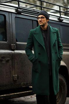 Big green coats