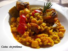 Cocina Sin Problemas: Arroz meloso con costillas y pollo.