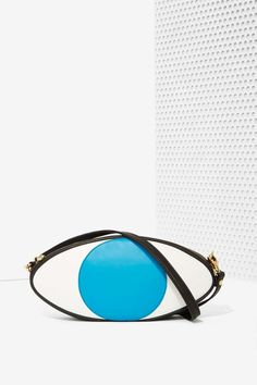 Welcome Companions Eye Football Leather Bag | Shop Accessories at Nasty Gal!