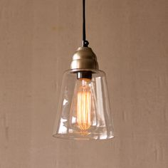 Clear Inspiration Pendant Lamp - Dot & Bo