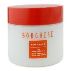 Borghese Botanico Eye Compresses-60 ct by Borghese. $29.85. Design House: Borghese. Recommended Use: evening. Borghese Botanico Eye CompressesSince our eyes are the first area to reflect the ravages of aging and fatigue, they need special attention. Borghese's Botanico Eye Compresses provide a quick pick-me-up in five minutes. Smooth, cool and refresh the delicate eye area instantly. Dermatologist and ophthalmologist tested. Suitable for contact lens wearers and sensit...