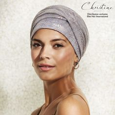Bonnet Chimio Viva Palace - 35€ ... Un look chic en toute simplicité :) #ELITEHAIR #ChristineHeadwear  #TurbanFemme #TurbanChimio #BonnetChimio #Spring