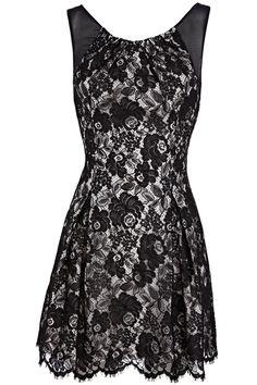 Black Lace Dress bridesmaid dress?? Love