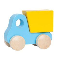 Little Dump Truck, Blue | Hape Toys