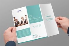 Tri-fold Brochure Business by azadcsstune on @creativemarket