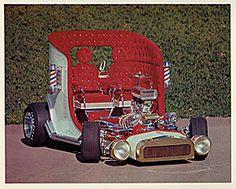 Barber Car - Designed By George Barris.