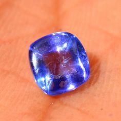 100% Natural Violet Blue Tanzanite Square Diamond Cut Loose Gemstone 5*5*3mm #Diamondforgood