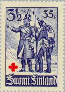 Officer and Soldier, 1808/1809