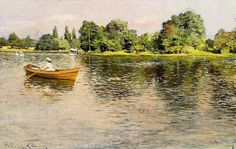 Galerie Nord Lille aime: Summertime 1886 impressionism William Merritt Chase