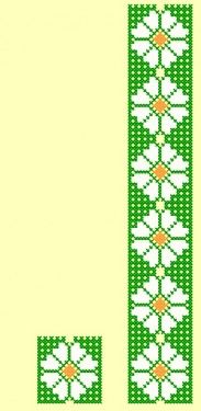 Poze FL037 Embroidery Patterns Free, Stitch Patterns, Embroidery Designs, Cross Stitch Borders, Loom Beading, Le Point, Bookmarks, Needlework, Diy And Crafts