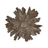 Found it at Wayfair - Chateau Round Metal Sunburst with Sacred Heart Wall Decor/ 43 big