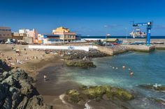 San Cristobal beach in Las Palmas de Gran Canaria