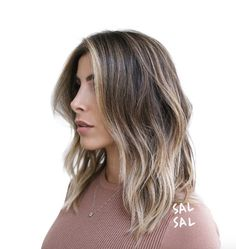 Silver blonde highlights by Sal Salcedo
