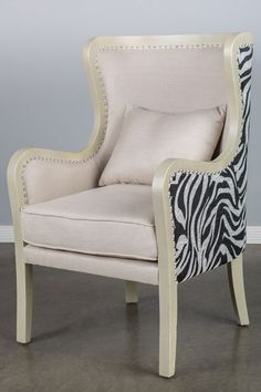 Carla Wing Chair by Statements by J on @HauteLook- Cassie's bedroom