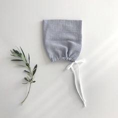 Liilu Pixie Bonnet, Blue Grey - shopminikin