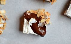 Yammie's Glutenfreedom: Homemade Chocolate Covered Coconut Marshmallows