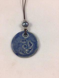 Ceramic Pendant Necklace Pendant Ceramic Pendant Handmade