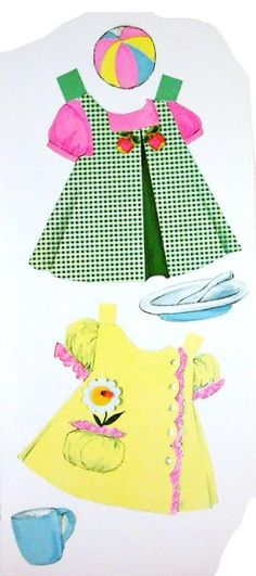 CUDDLY BABY Paper Doll  <> 1969 Whitman #1974