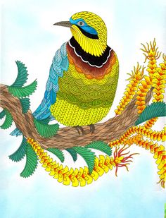 From Millie Marotta's new coloring book Wild Savannah