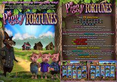 Piggy Fortunes Slot game