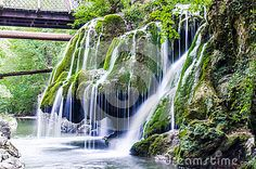 Photo about Bigar, in Romania is most amazing waterfall from East Europa. Image of summer, nature, park - 89698085 Vectors, Waterfall, Sign, Stock Photos, Park, Amazing, Nature, Plants, Free