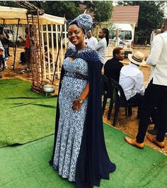Shweshwe Dresses 2019 Top - style you 7 African Dresses For Women, African Fashion Dresses, African Women, Ankara Fashion, African Wedding Attire, African Attire, African Wear, Traditional Wedding Attire, Traditional Outfits