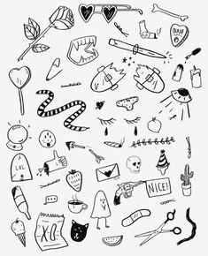 Эскиз line tattoos, body art tattoos, black tattoos, small tattoos, cool tattoos Kritzelei Tattoo, Doodle Tattoo, Doodle Drawings, Grunge Tattoo, Line Tattoos, Black Tattoos, Body Art Tattoos, Small Tattoos, Tattoo Ideas