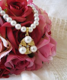 Vintage Wedding Pearl Necklace by Keepsakes By Katherine