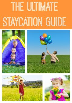 If you're planning a staycation, you won't want to miss this ultimate staycation guide for your summer!
