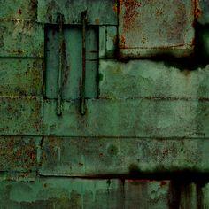 rust and green by incolorwetrust on DeviantArt Palette Verte, Vert Metal, Rusted Metal, Peeling Paint, Nature Artwork, Water Element, Rustic Doors, Impressionist Paintings, Visual Arts