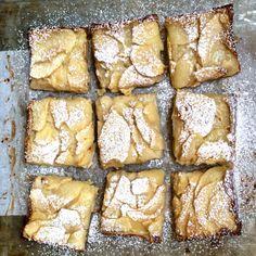 Doris Greenspan's Custardy Apple Squares