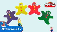 Peppa Pig Play Doh Gingerbread Man Rainbow Munions Angry Birds Stella