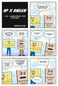 BP vs #BMGen 1.20 Always Ready for Anything @ BMGenComics #custdev #leanstartup materiais.bmgenbr...